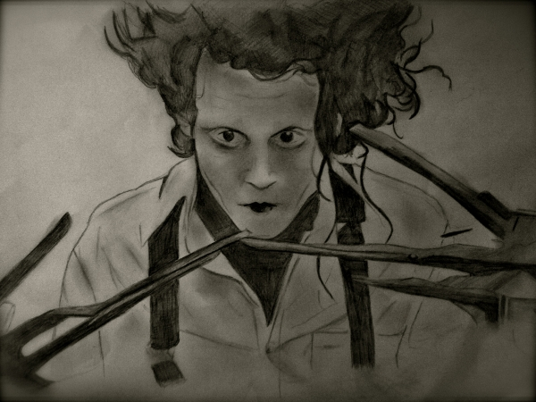 Johnny Depp by JLM23